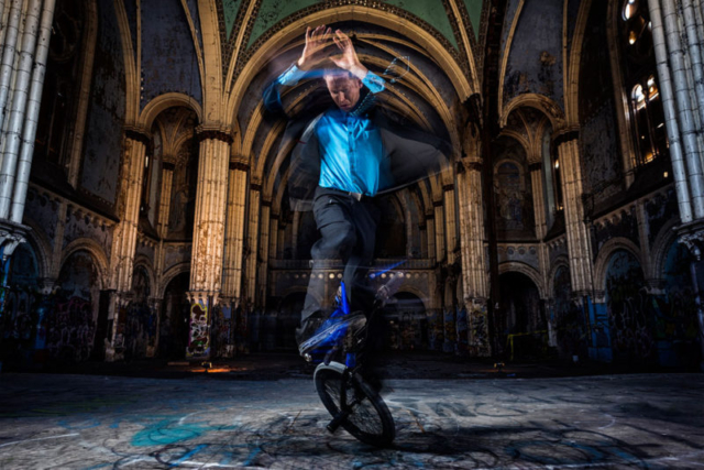 Matt Wilhelm St Boniface Church No Handed Fob Spin